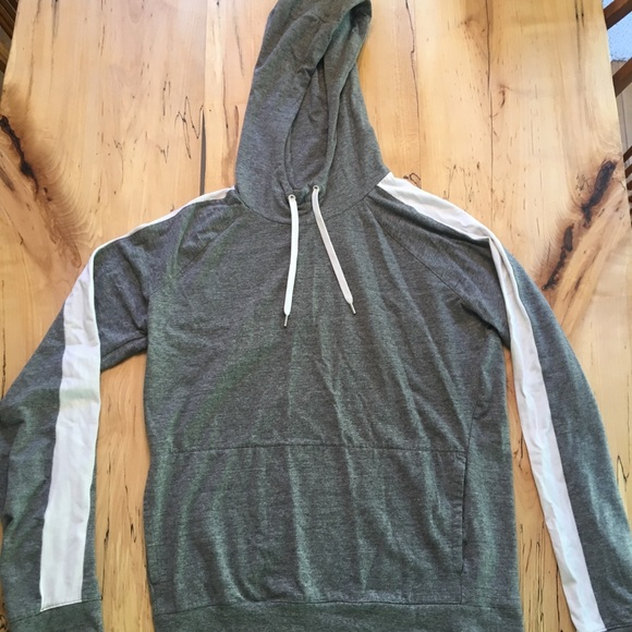 American Eagle Outfitters Other - American Eagle Hoodie - Grey / White Medium